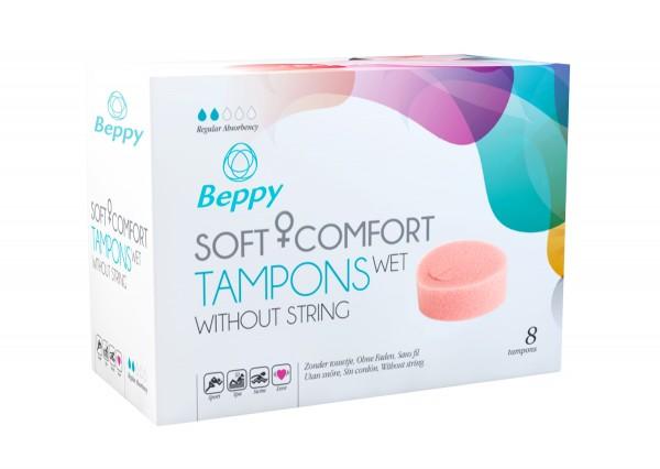 Beppy Soft + Comfort Tampons WET - 8 Stück