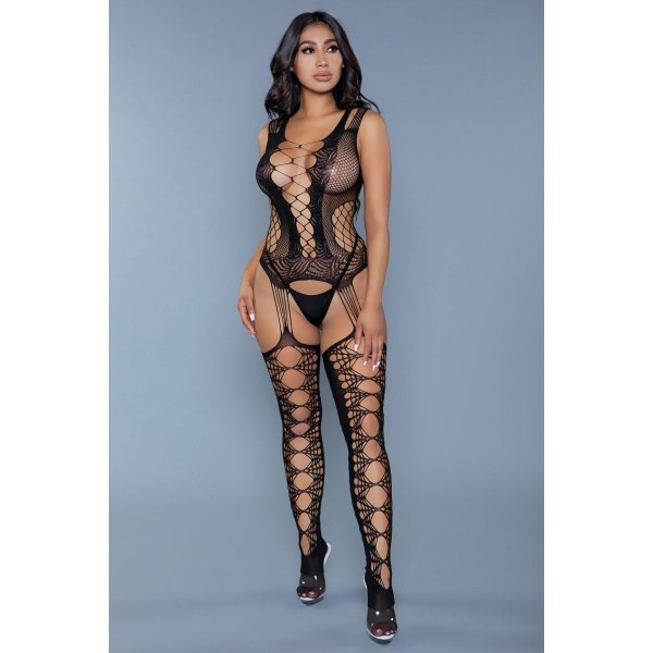 Love Hurts Straps-Catsuit