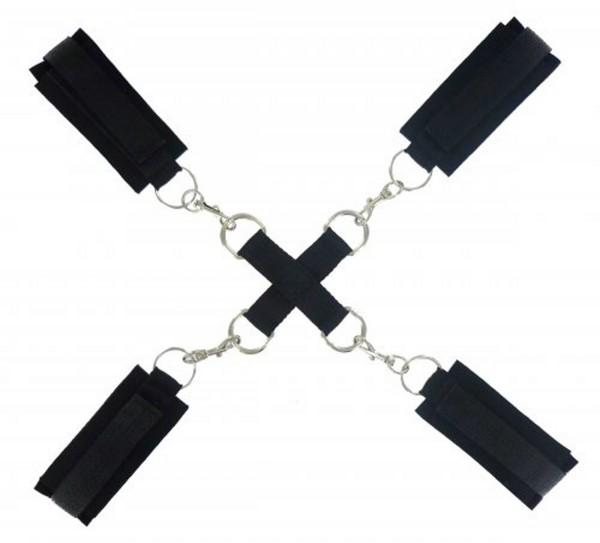Frisky Stay Put Cross Tie Fesseln
