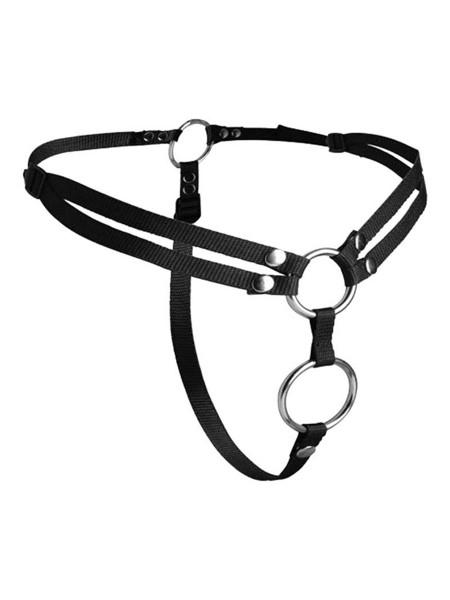 Strap-on Harness für doppelte Penetration