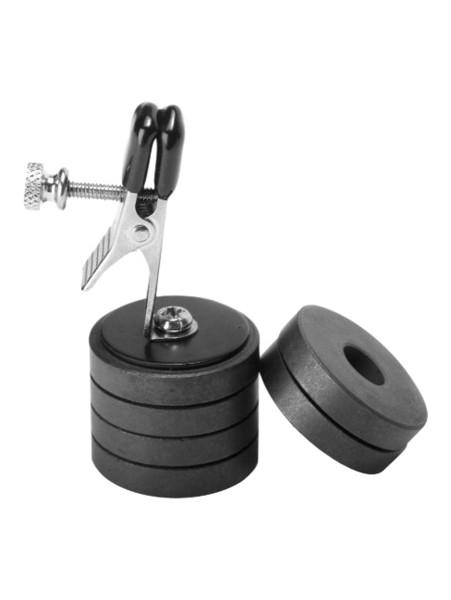 Onus Nippelklemme mit Magnetgewichten