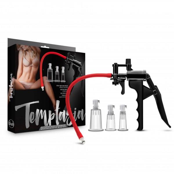 Komplettes Klitoris- und Brustwarzen-Pumpen-Set