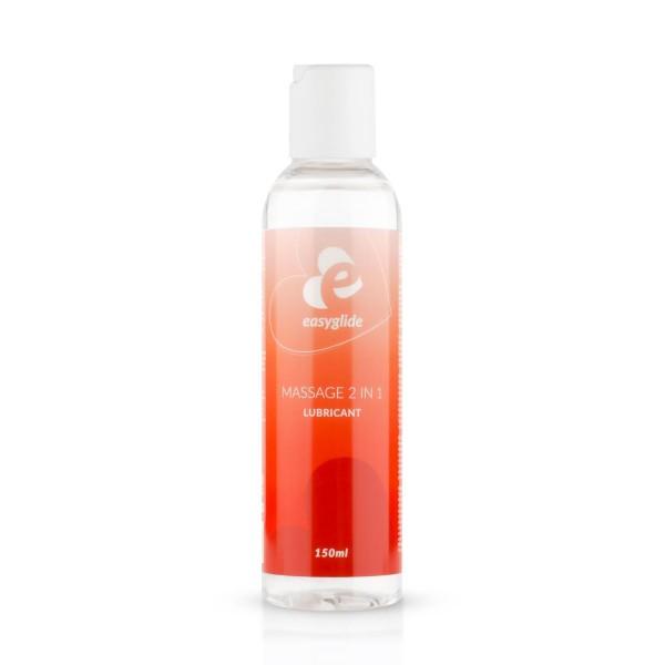 2 in 1 Massage-Gleitmittel auf Wasserbasis