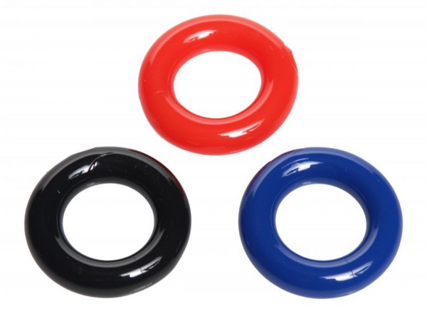 Set Dehnbare Penisringe - 3 Teile